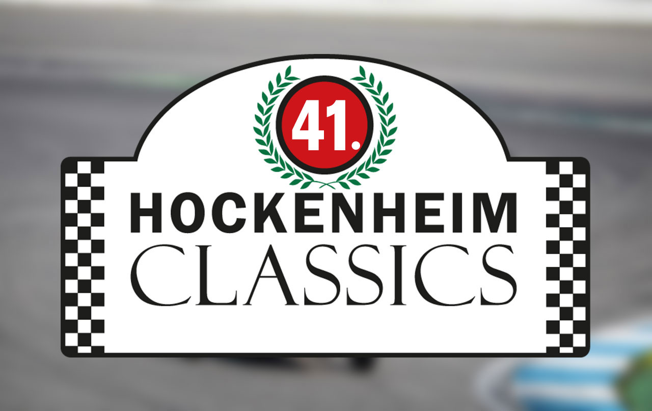 Organisation der 41. Hockenheim Classics durch die Huter Group