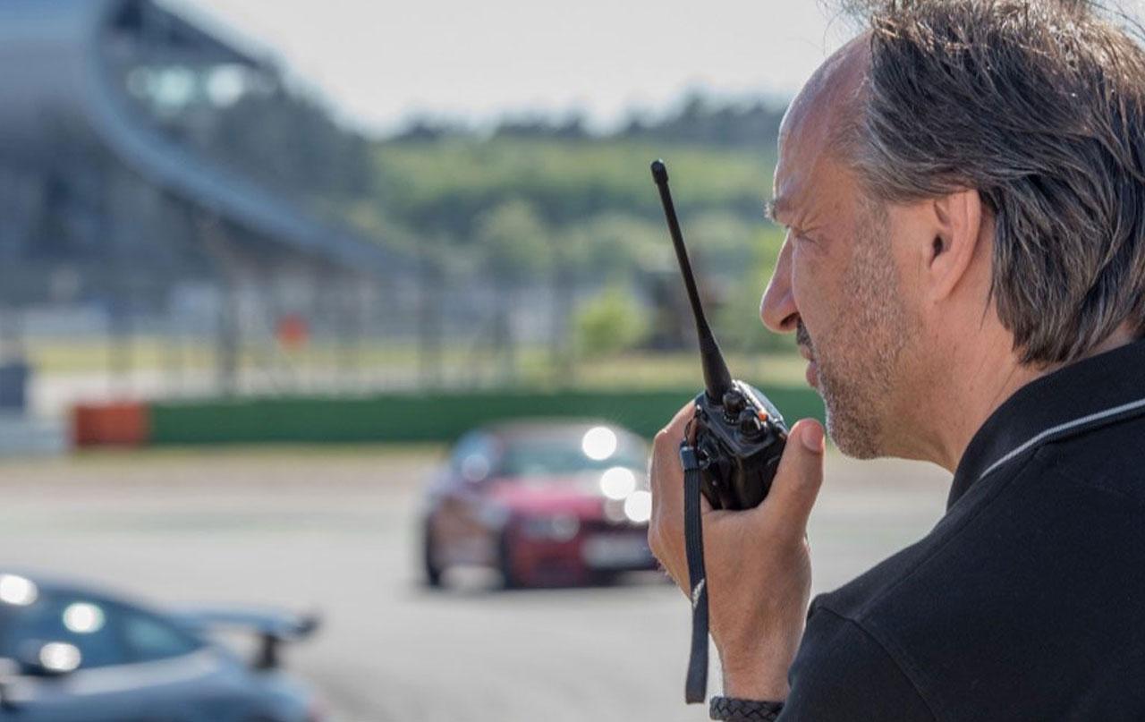 Huter Events Fahrsicherheitstraining mit Marco Werner 16.10.18